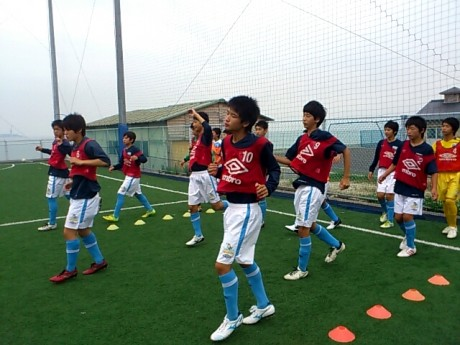 U-15 TEAM-A   warming up